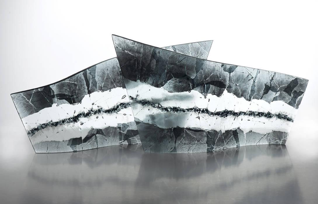 Sculptural Curves Michelle Keeling Glass ArtObjets d'art