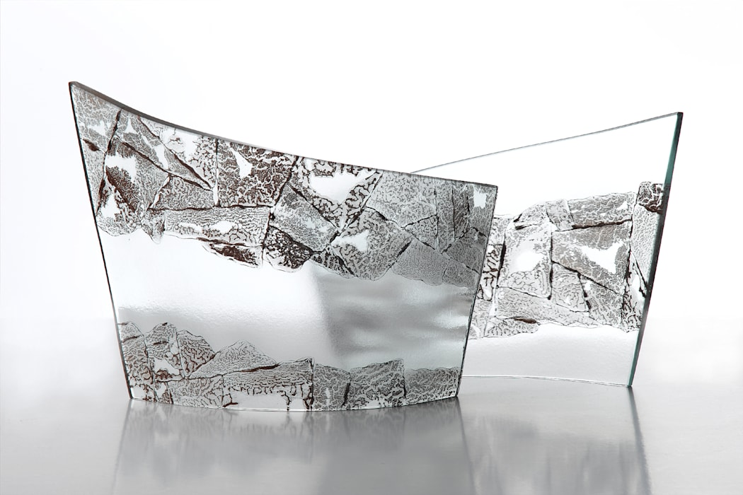 Sculptural Curves Michelle Keeling Glass ArtSculptures