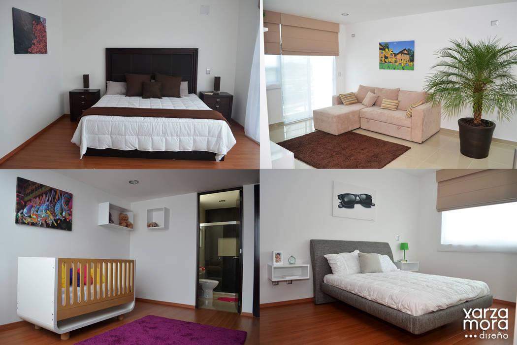 Minimalist bedroom by Xarzamora Diseño Minimalist