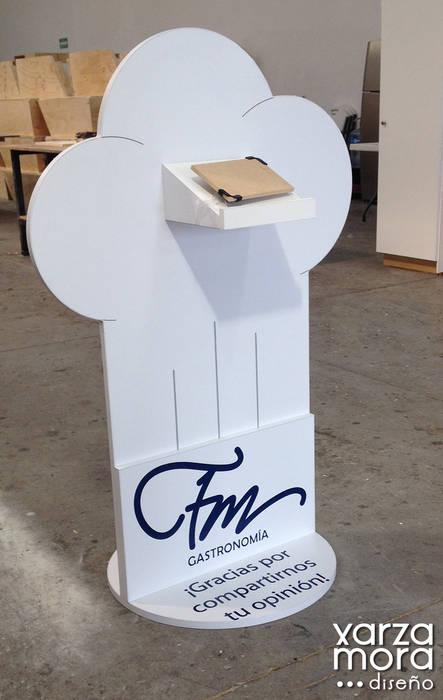FM Gastronomía Xarzamora Diseño Gastronomía de estilo minimalista