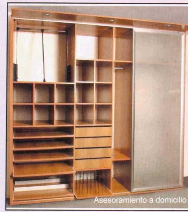 Dormitorios de estilo  de Yatar Amoblamientos