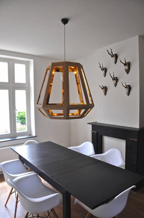 Çedille by Françoise Oostwegel Living roomLighting Copper/Bronze/Brass Wood effect