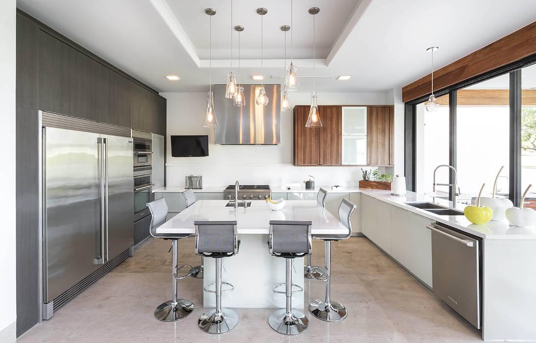 CASA CAR: Cocinas de estilo  por Imativa Arquitectos