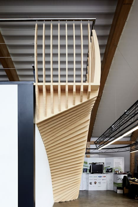 scandinavian  by EeStairs | Stairs and balustrades, Scandinavian Bamboo Green