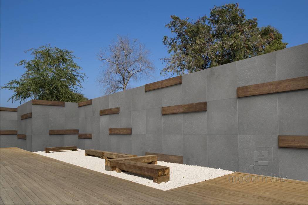 Jardines de estilo  de Modern Line, Moderno