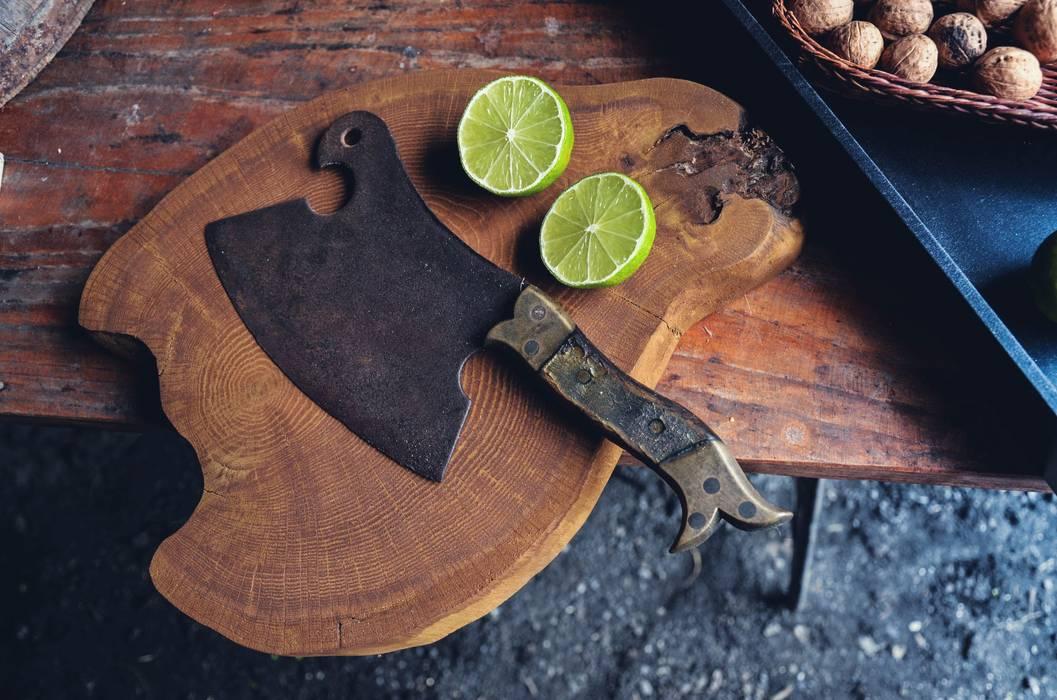 Cocinas de estilo escandinavo de D2 Studio Escandinavo Madera Acabado en madera