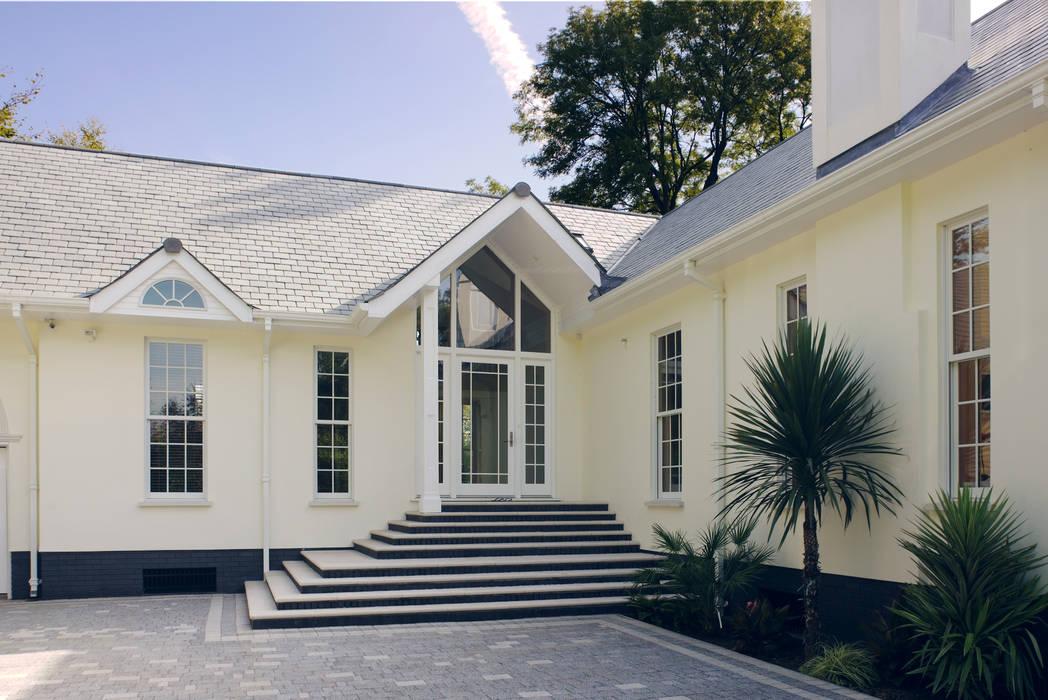 Neo Classical Design For New Build Family Home Pintu & Jendela Gaya Klasik Oleh Marvin Windows and Doors UK Klasik