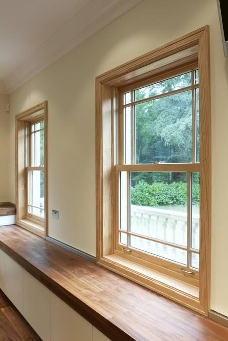 Aluminium Clad Wood Sash Windows by Marvin Windows and Doors UK Класичний