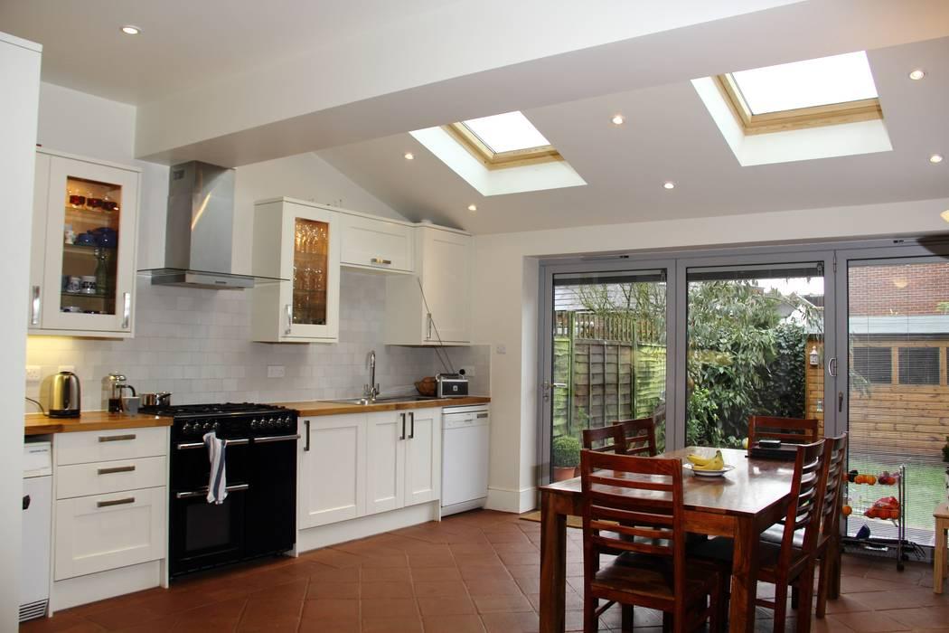Ground Floor Extension, Drury Rd Dapur Klasik Oleh London Building Renovation Klasik