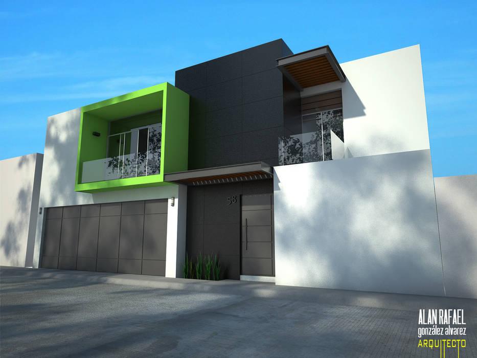 Maisons modernes par Arquitecto Alan RGA Moderne