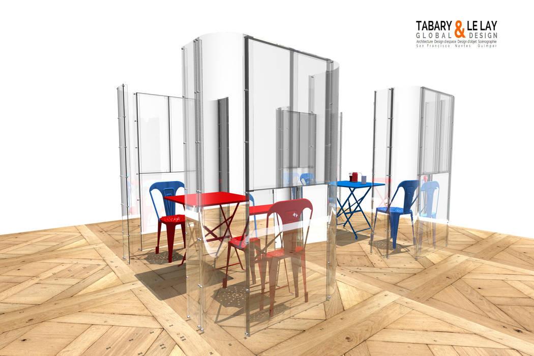 le plan à 2: Bureau de style de style Moderne par Tabary Le Lay