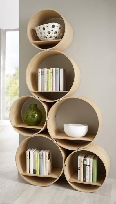 Kißkalt Designs Living roomShelves Wood