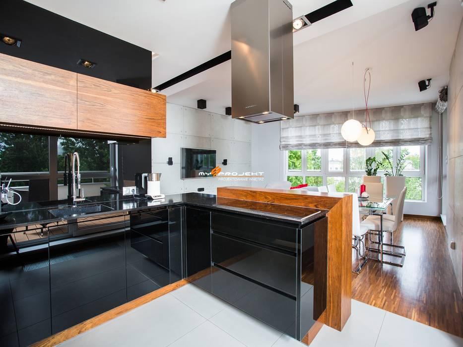 Dapur oleh MYSprojekt projektowanie wnętrz, Modern