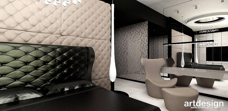Modern style bedroom by ARTDESIGN architektura wnętrz Modern