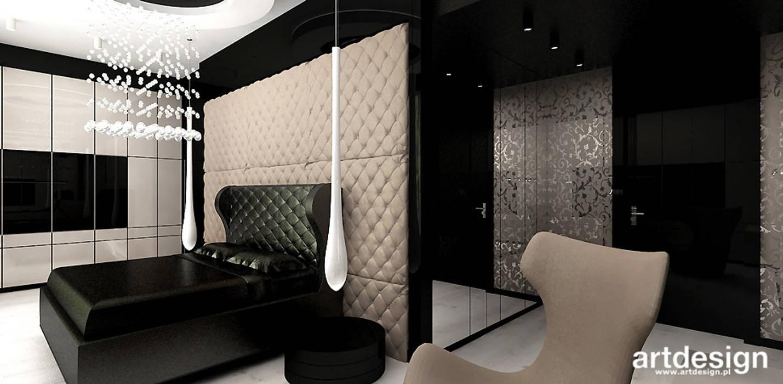 Quartos modernos por ARTDESIGN architektura wnętrz Moderno