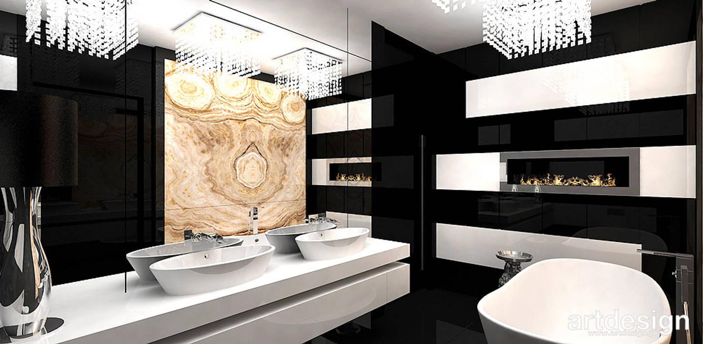 Casas de banho modernas por ARTDESIGN architektura wnętrz Moderno