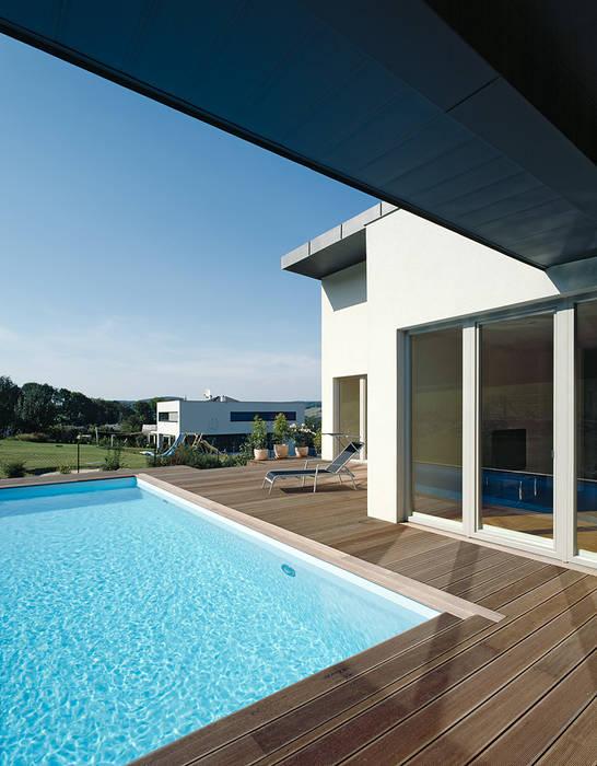 HAUS AM HANG Moderne Pools von DREER2 Modern