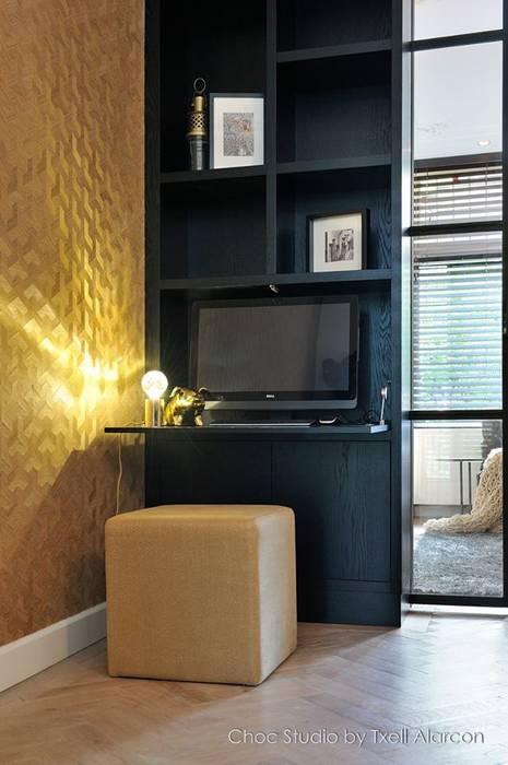 Bureau moderne par choc studio interieur Moderne