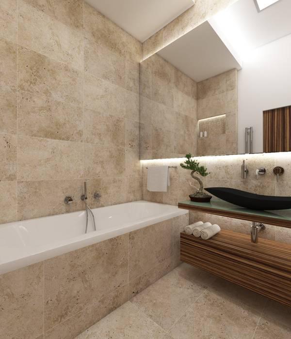 Natur- badezimmer fuji moderne badezimmer von perfecto ...