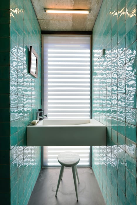 ห้องน้ำ โดย Ricardo Moreno Arquitectos, โมเดิร์น