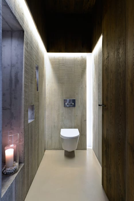 Phòng tắm theo Ricardo Moreno Arquitectos, Hiện đại