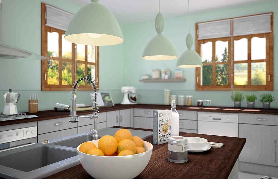 Cozinha  por Concept d'intérieur