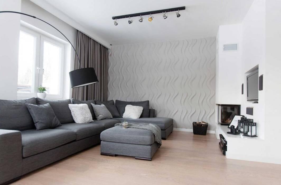Moderne Wohnzimmer von MGN Pracownia Architektoniczna Modern