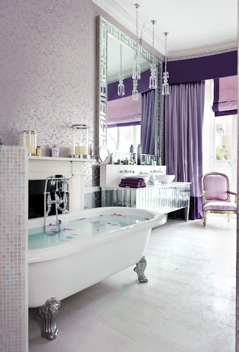 Bathroom by Rebecca James Studio