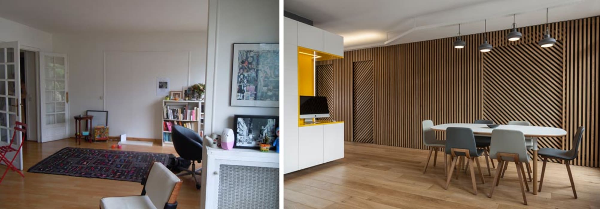 Appartement ludique 70m2 Créateurs d'Interieur