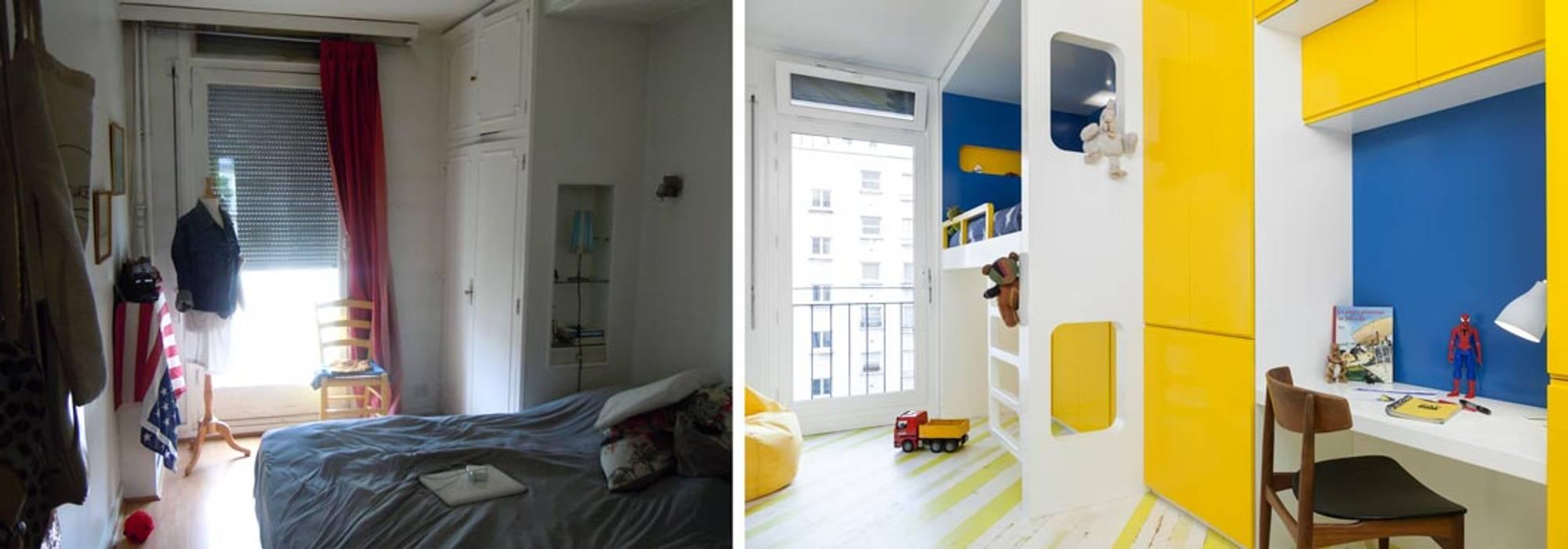 appartement ludique 70m2: de style par créateurs d'interieur | homify