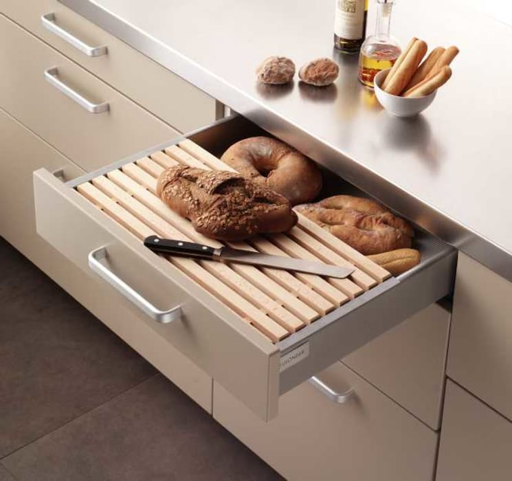 現代廚房設計點子、靈感&圖片 根據 DEULONDER arquitectura domestica 現代風
