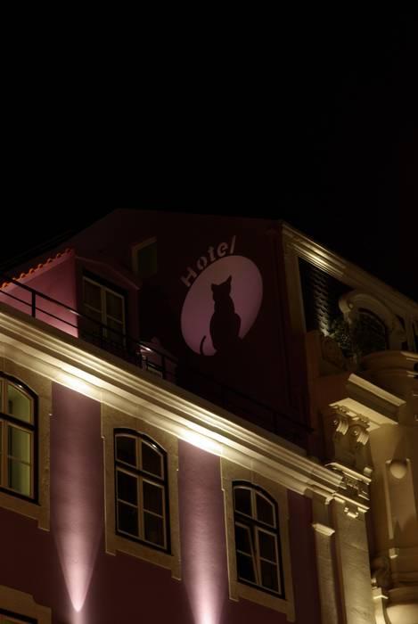 Internacional Design Hotel Hotéis eclécticos por Visual Stimuli Eclético