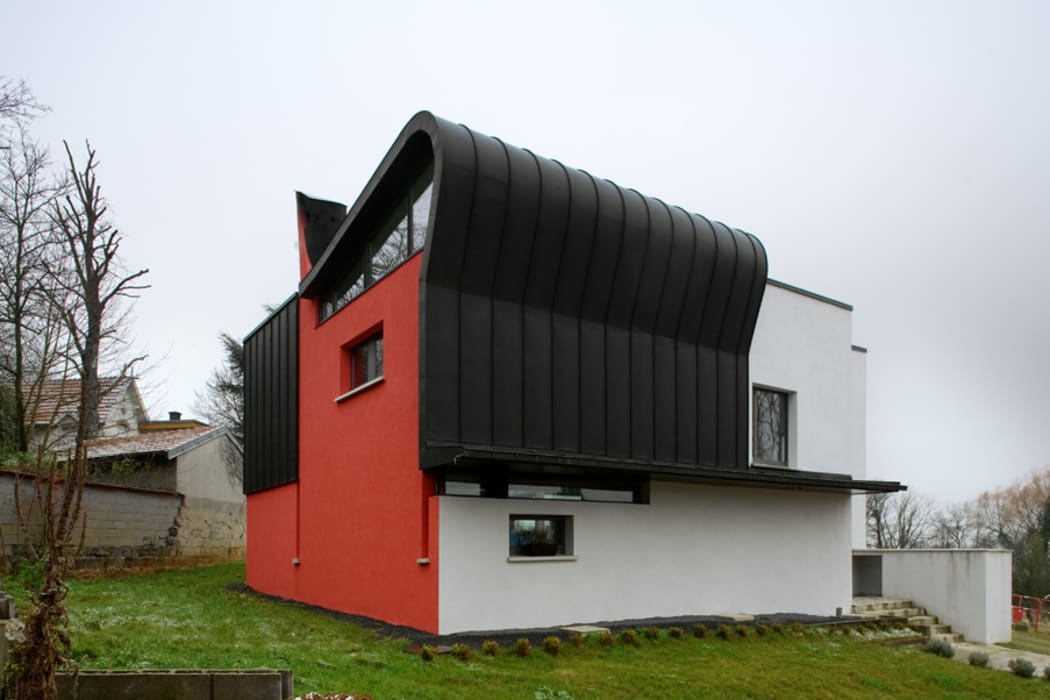 MHA ARCHITECTURE Modern houses