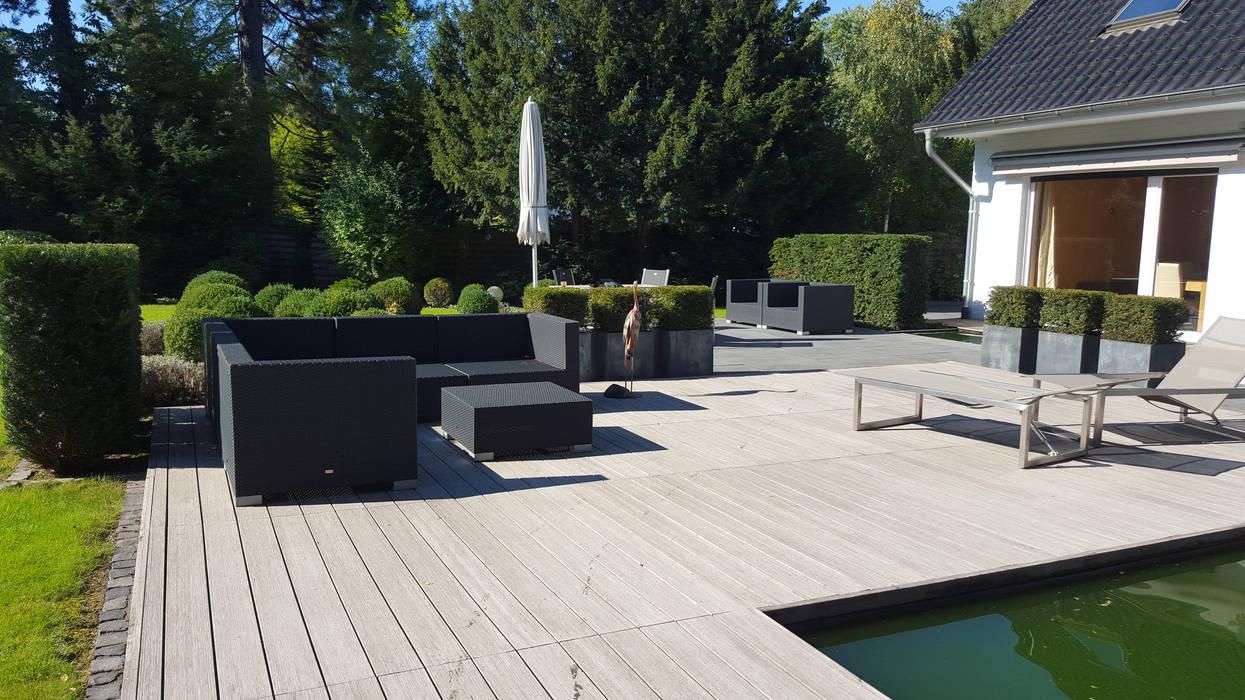 Jardines de estilo moderno de SUD[D]EN Gärten und Landschaften Moderno