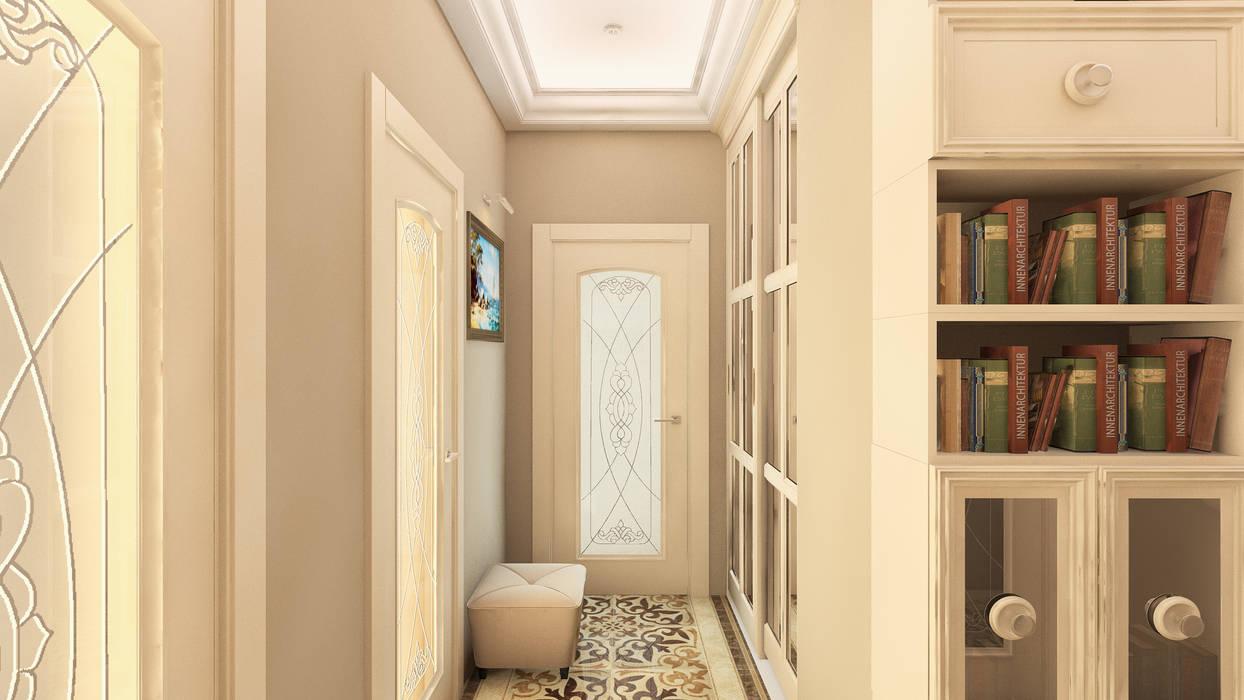 прихожая Коридор, прихожая и лестница в классическом стиле от homify Классический