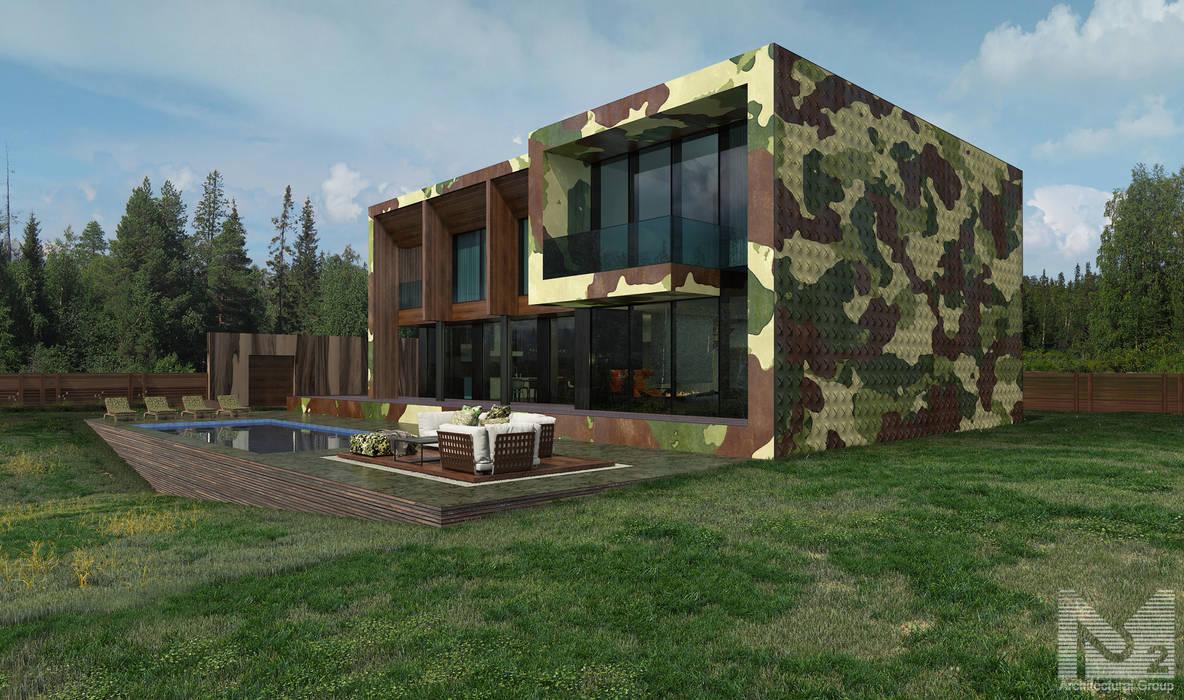 Rumah oleh ALEXANDER ZHIDKOV ARCHITECT, Minimalis