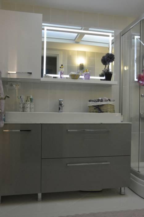 ACS Mimarlık – İzmir Mimkent'te Yeni Bir Yaşam Projesi:  tarz Banyo