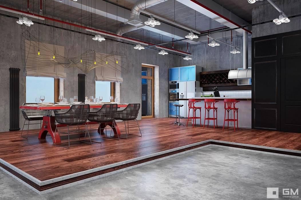 Salas / recibidores de estilo  por GM-interior,