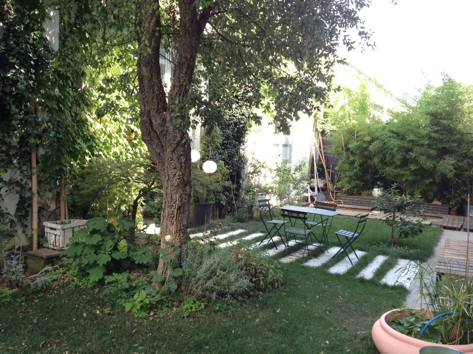 Jardin de style  par Studiopp8, Moderne