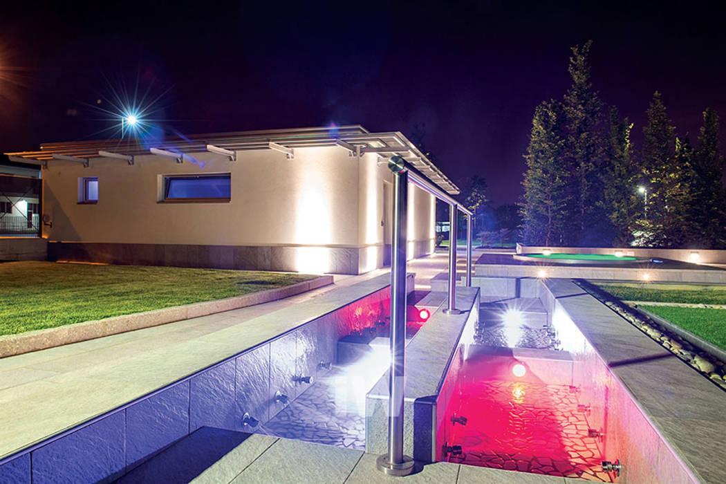 Spa Privata, Bergamo: Spa in stile in stile Moderno di ITALIAN WELLNESS - The Art of Wellness