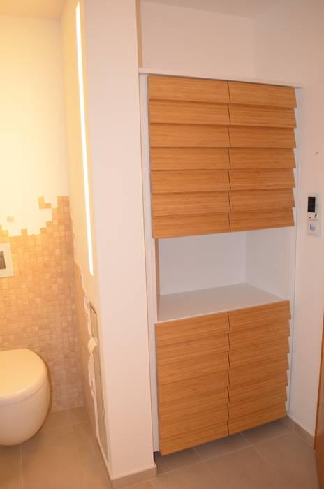 Einbauschrank für badezimmer moderne badezimmer von ...