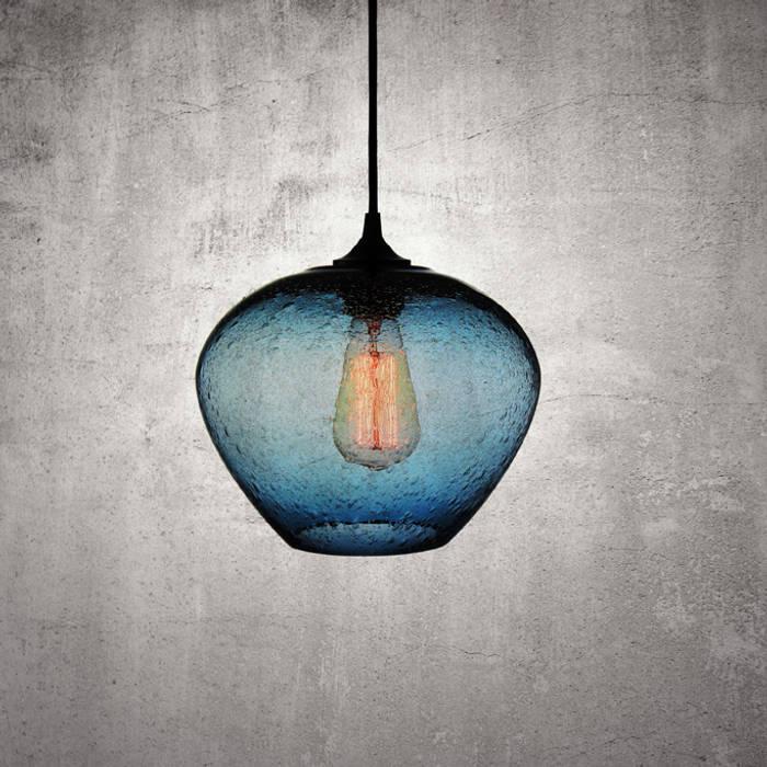Rustica Azul: Comedores de estilo minimalista por Luminosa ™