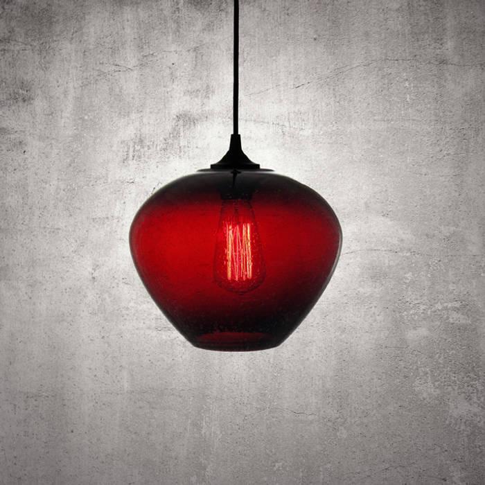 Rustica Roja: Cocinas de estilo  por Luminosa ™