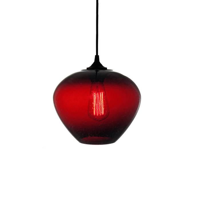 Rustica Roja - fondo blanco: Estudios y oficinas de estilo  por Luminosa ™