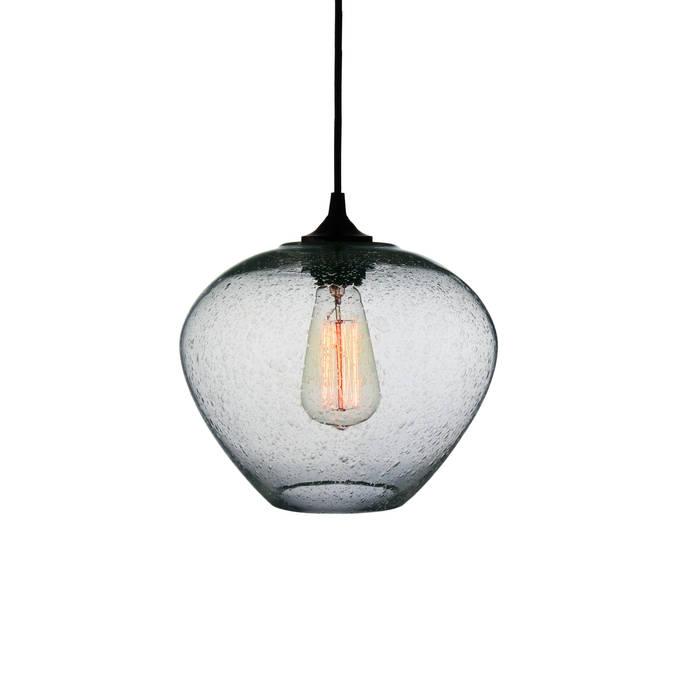 Rustica Transparente - fondo blanco: Recámaras de estilo moderno por Luminosa ™