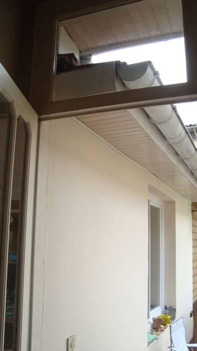 AVANT TRAVAUX Balcon, Veranda & Terrasse modernes par SAS ACCTIF DESIGN Moderne