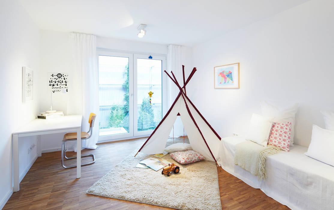 Musterwohnung Moderne Kinderzimmer von Home Staging Bavaria Modern