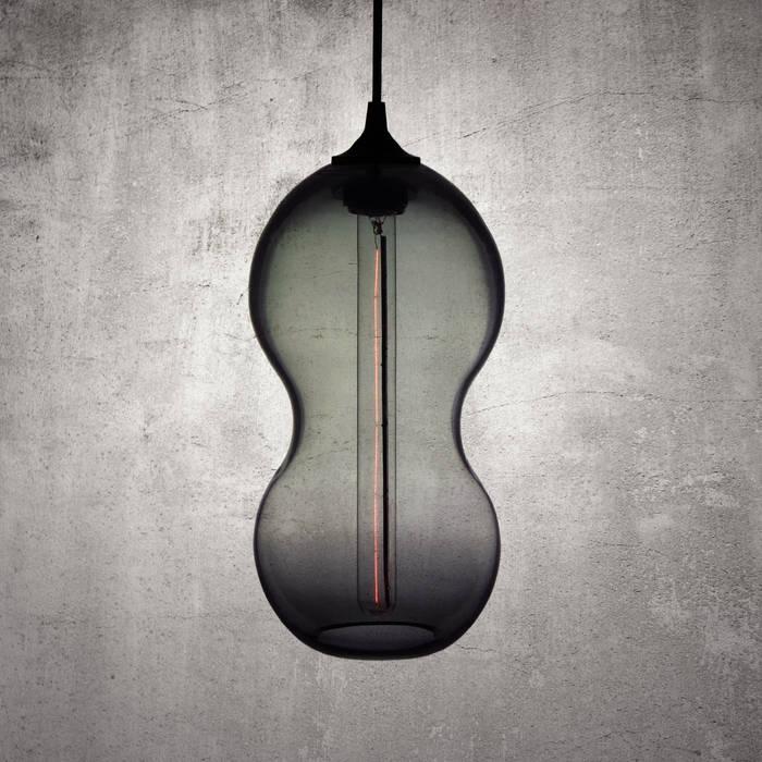 Cacahuate Gris: Salas de estilo  por Luminosa ™