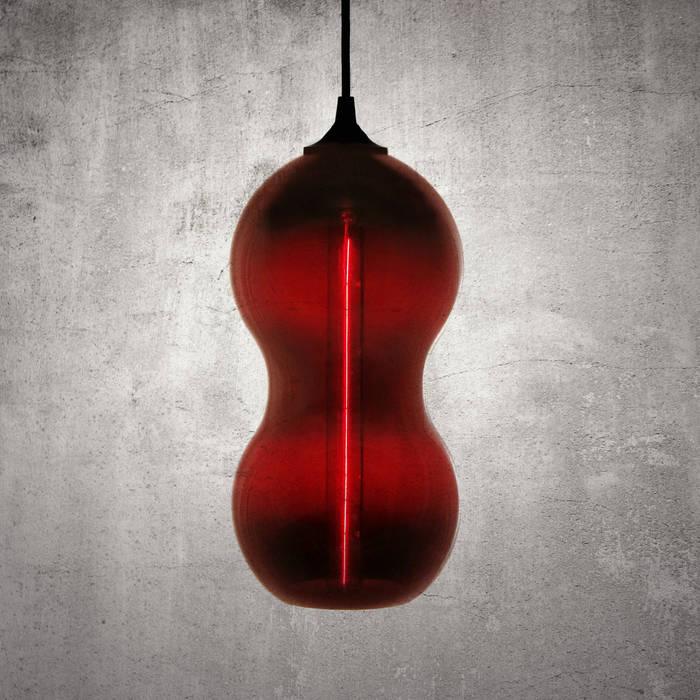 Cacahuate Roja: Comedores de estilo moderno por Luminosa ™