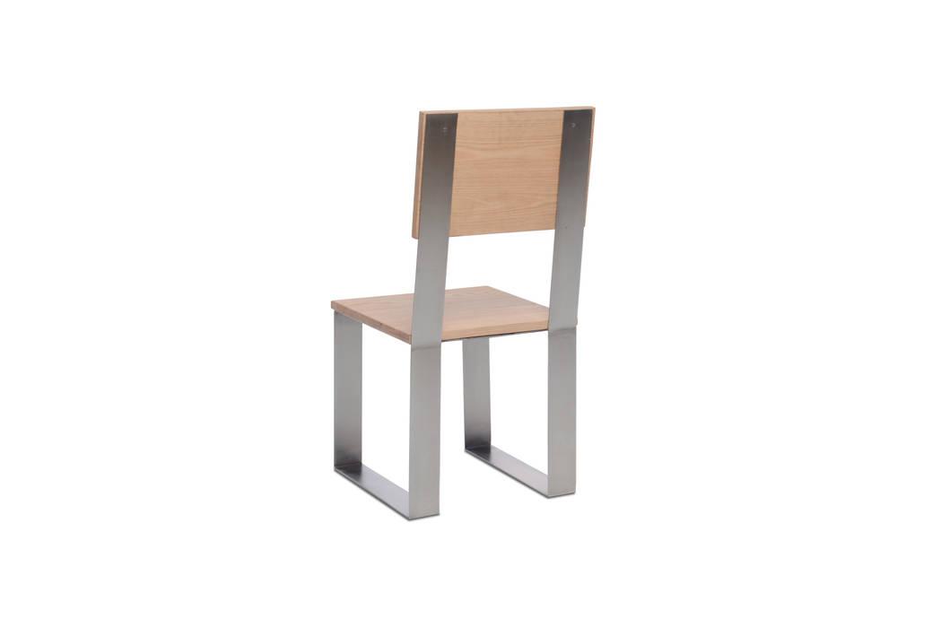 Silla Basile:  de estilo industrial por Etienne Design, Industrial Metal